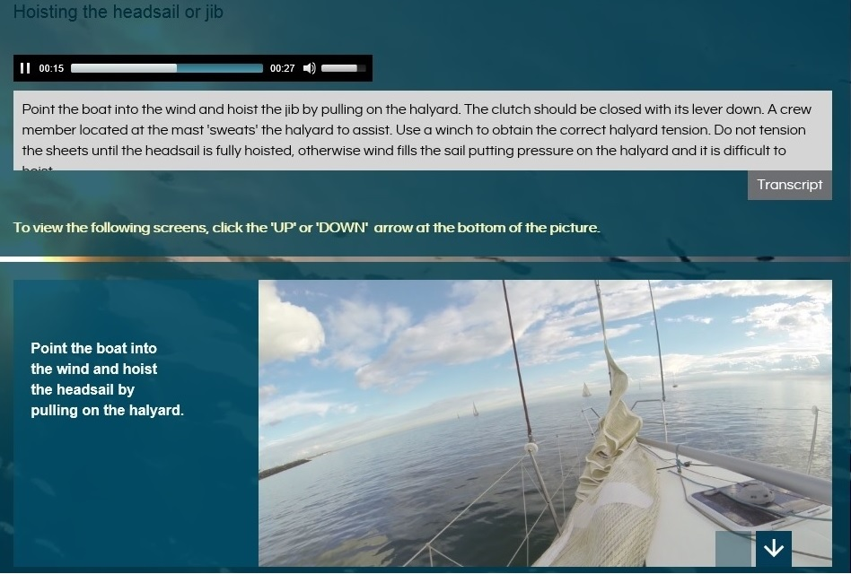 Learn to sail Course 2 First sailing experience Preview 2