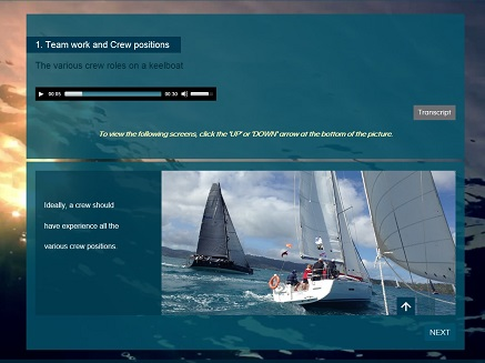 Learn to sail Course 6 Crew roles and yacht racing Preview 2