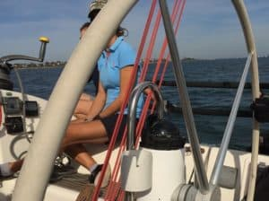 Sailing safety precautions